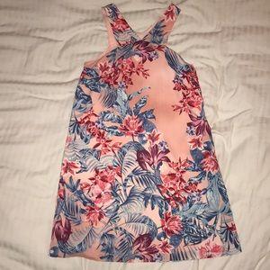 BCBG mini dress! Such a great vacation dress.